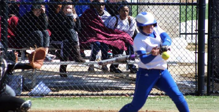 Softball trades shutouts with Marian, splits NACC twinbill