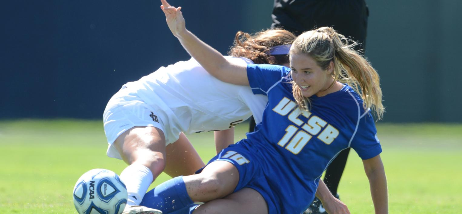 Big Second Half Leads UCI Past UCSB, 3-1