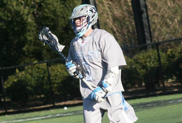 Men's Lacrosse Tumbles at Christopher Newport
