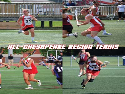 Four named to 2012 All-Chesapeake Region Teams