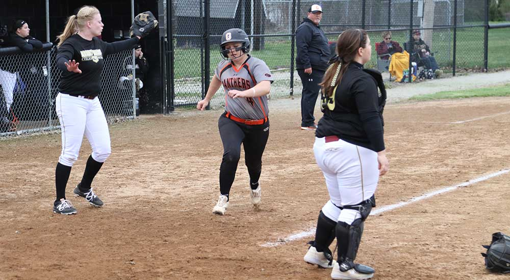 Softball sweeps Robert Morris Springfield