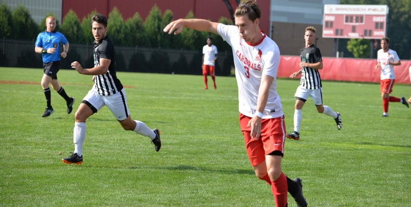 Men's Soccer remains in first place after 2-0 shutout of Davenport