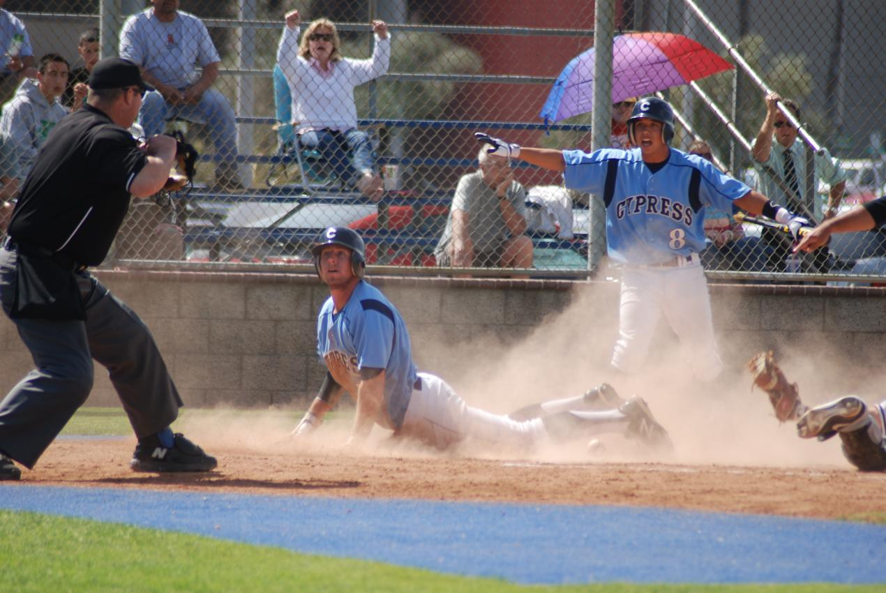 Chargers defeated Santa Ana 9-2 in home finale