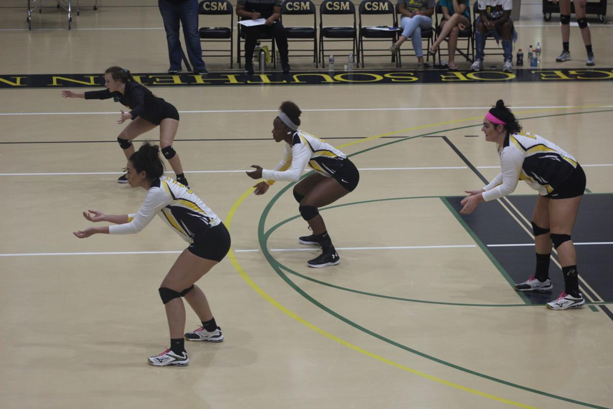 CSM Fell to Cecil College in Three Sets last Friday
