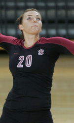 Volleyball Tops USF 3-1