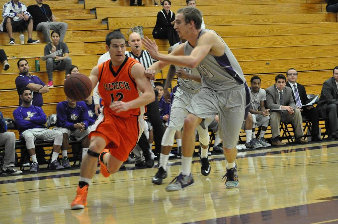 Joel, Men's Basketball Hold Prolific CMS Offense in Check