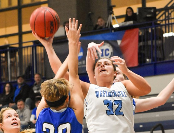 Westminster Women's Basketball Tallies First Win Against Millikin
