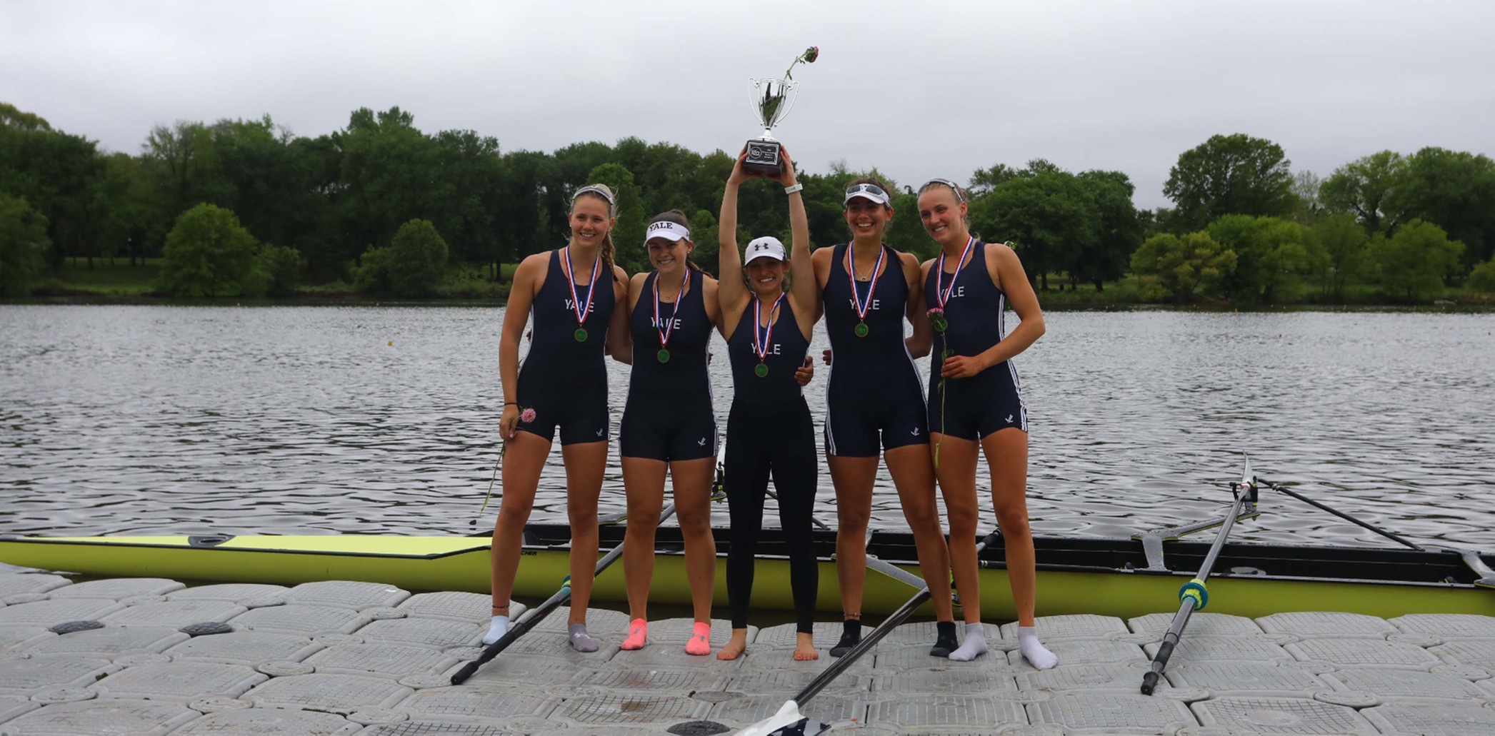The Ivy League champion varsity four will be one of the three crews competing at the NCAA Championship. (Ahsan Iqbal photo)