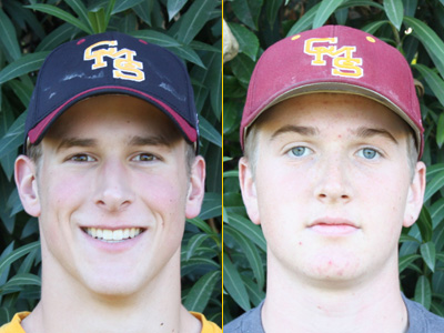 Stags Baseball Featured Players: Jeff Postetter & David Ulrich
