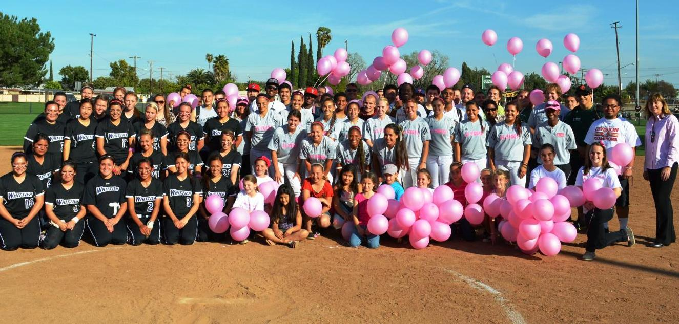 Leopards and Poets Battle To A Split During Strikeout Cancer Event