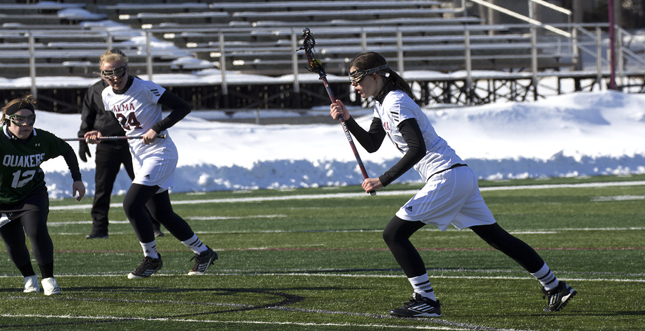 Alma WLAX loses 12-5 to Oberlin College on Saturday afternoon