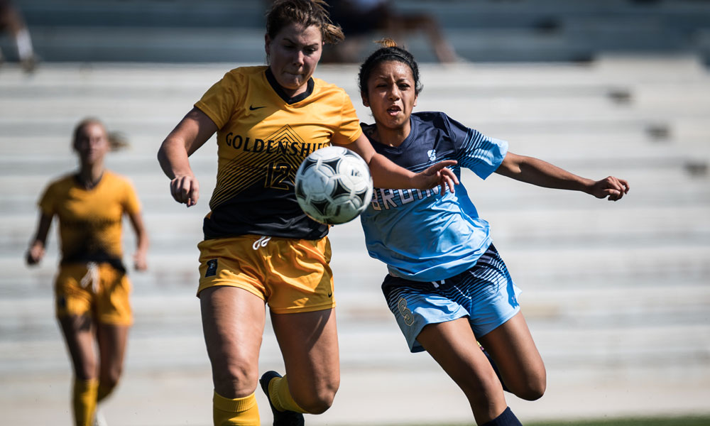 Women's soccer can't catch Cambrian after conceding early goal
