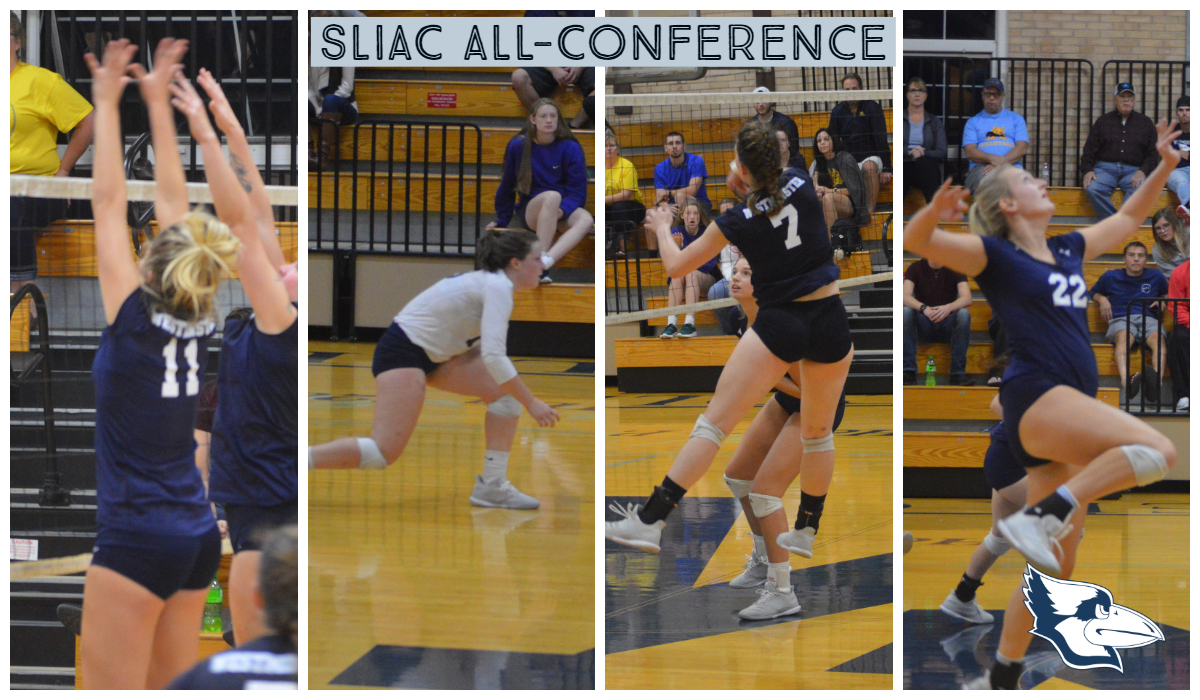 Four Named to All-Conference Teams for Westminster Volleyball