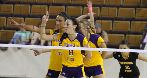 Tech volleyball team suffers setback at the hands of Tennessee State