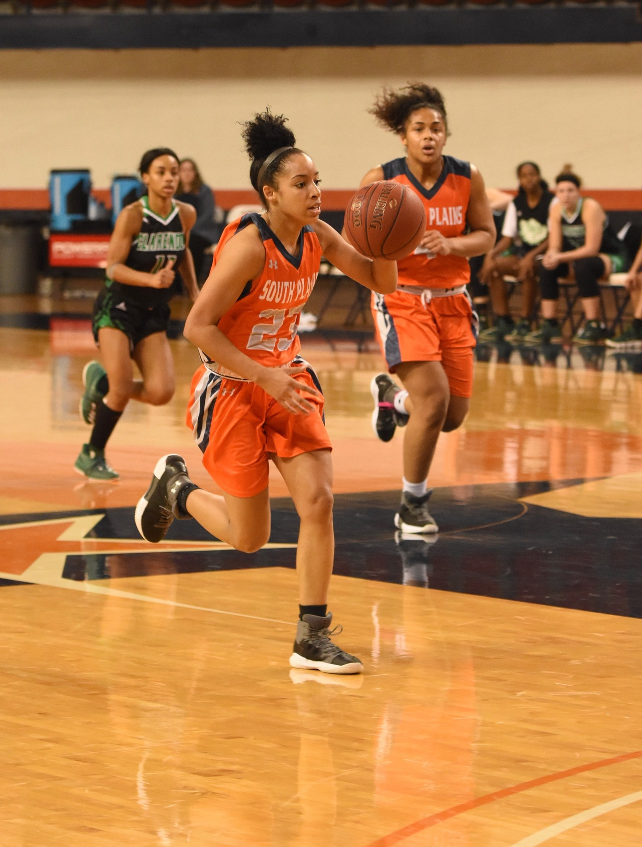 Lady Texans fall to Clarendon 65-52 Thursday at the Texan Dome
