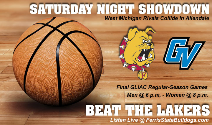 Ferris State Visits GVSU For West Michigan Rivalry Games Saturday Night