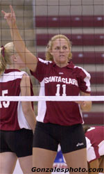 Volleyball Sweeps Saint Mary's