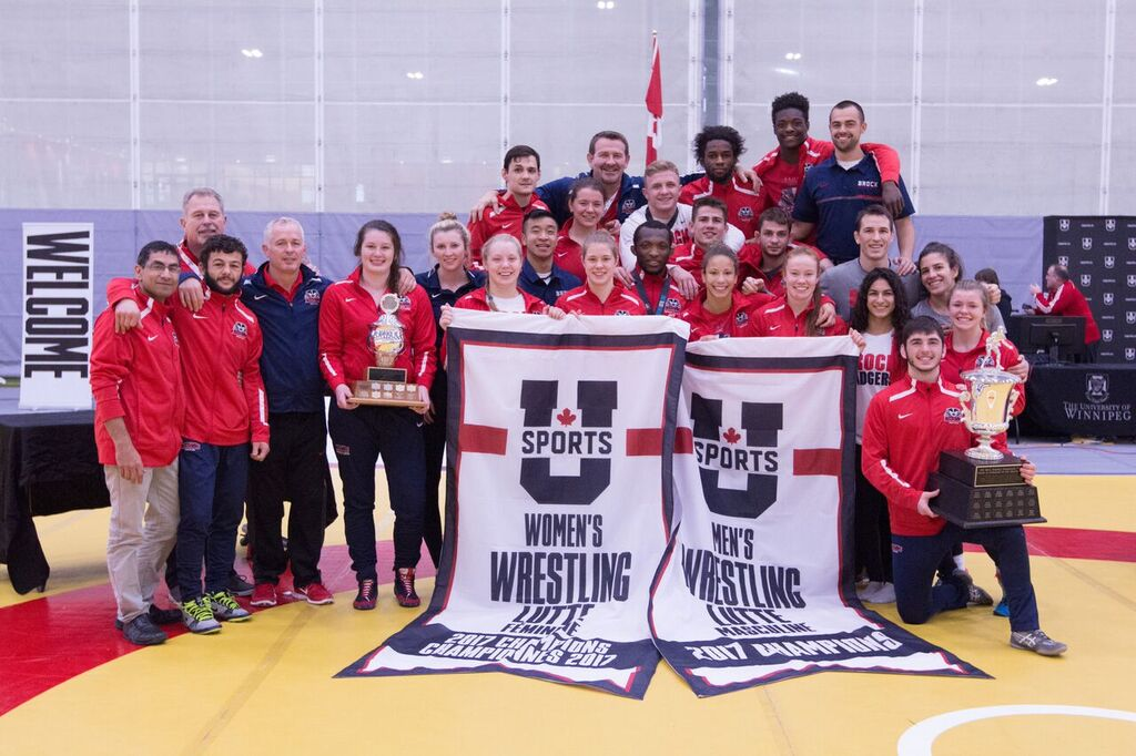 2017 U SPORTS Wrestling Championships: Brock sweeps team titles for fourth straight year