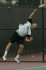Men's Tennis Sweeps Doubleheader with Win Over UC Davis