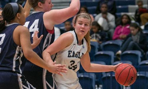 Eagles Tame Lions, 66-31, on Saturday Afternoon