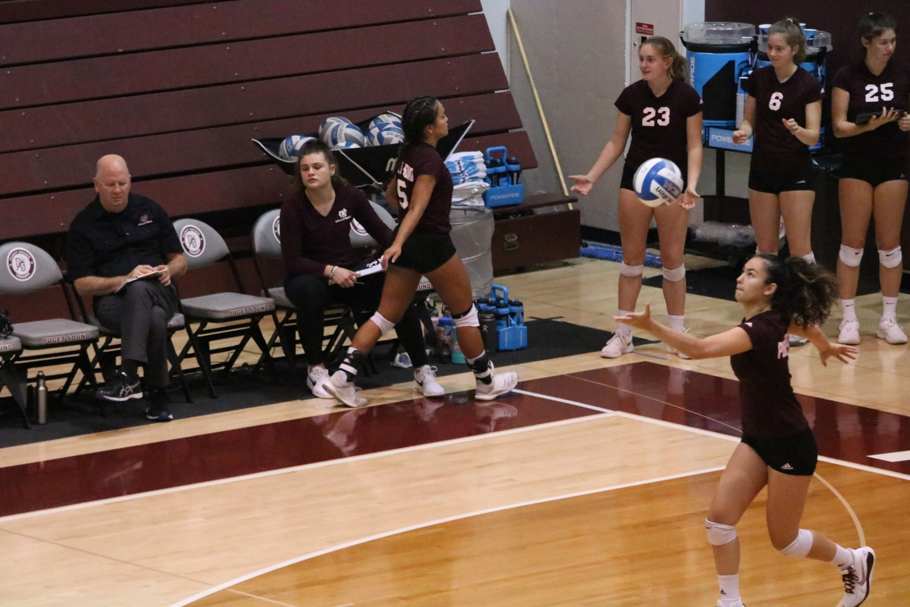 Loggers downed in five sets at Pacific