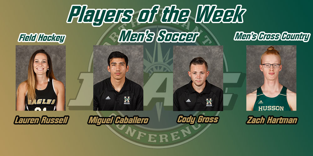 Russell, Caballero, Gross, and Hartman Earn NAC Weekly Awards