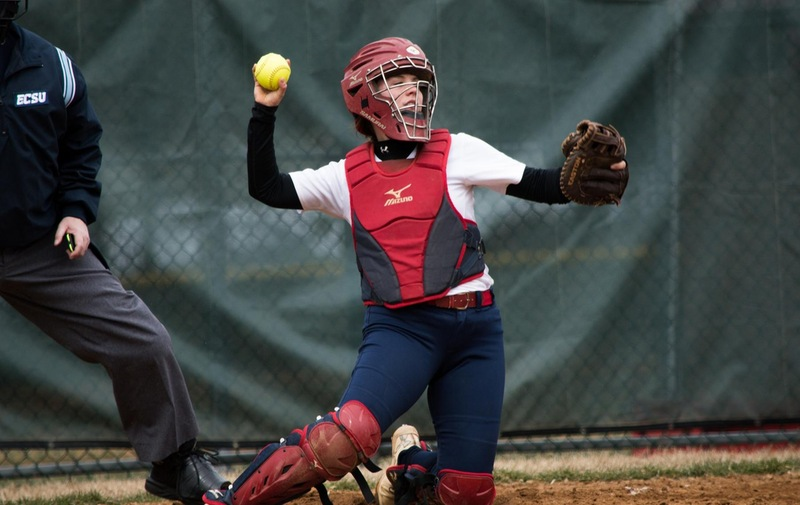 Softball Splits With Chestnut Hill College Griffins