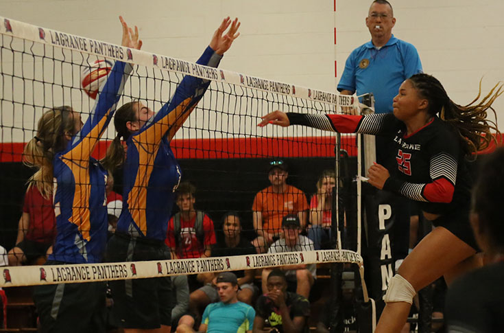 Volleyball: Panthers beat Pensacola Christian 3-1 for first win