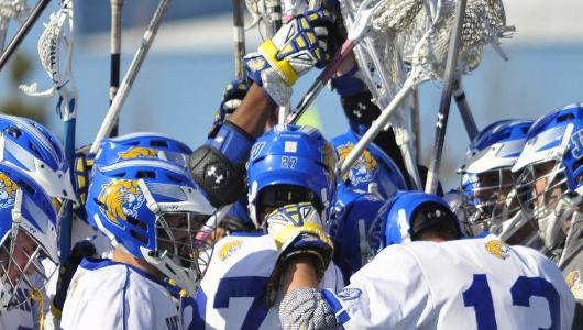 Men's Lacrosse Notches 13-12 Win Over Albertus Magnus