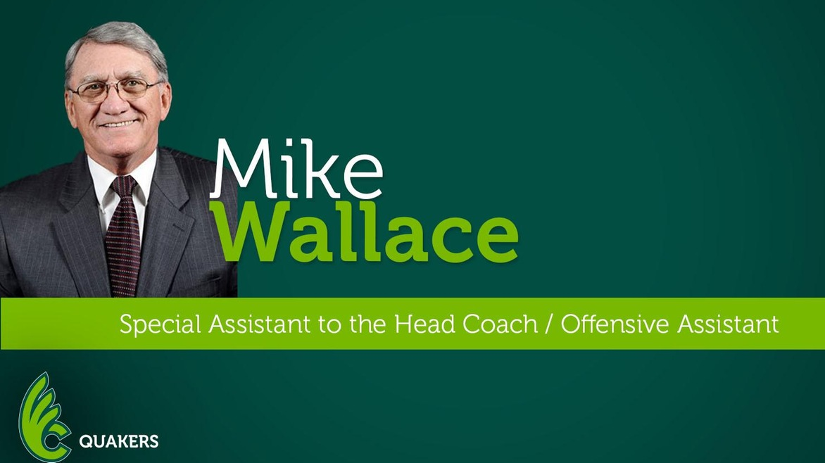 Mike Wallace Returns to Football Staff