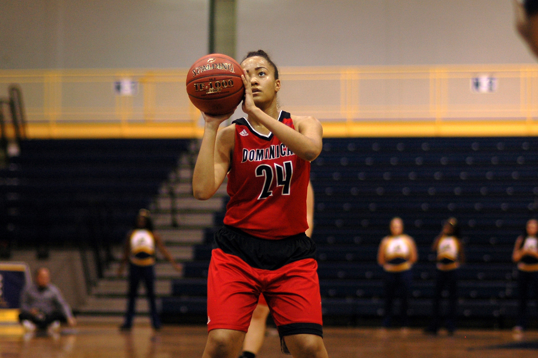 LADY CHARGERS FALL SHORT IN COMEBACK EFFORT VERSUS MERCY COLLEGE
