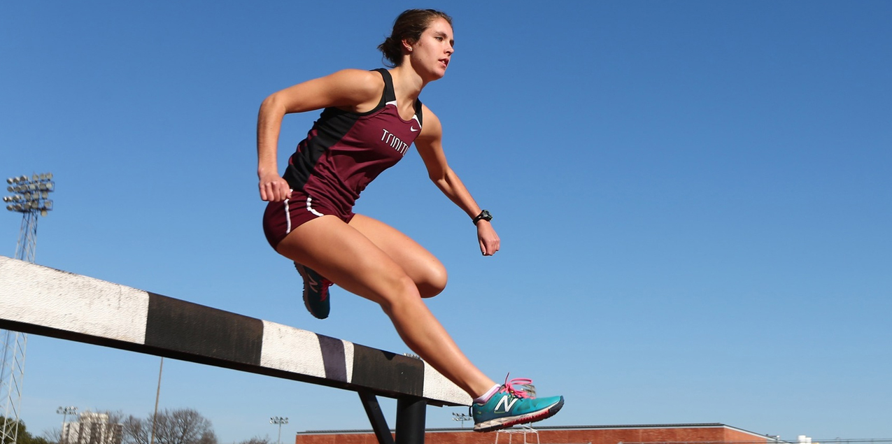 Molly McCullough, Trinity University, Women's Track Athlete of the Week (Week 9)