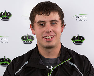 Ryan Dahmer, Red Deer College, Curling