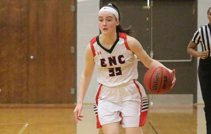 Stevie Orton Claims NECC Women's Basketball Player of the Week Honors