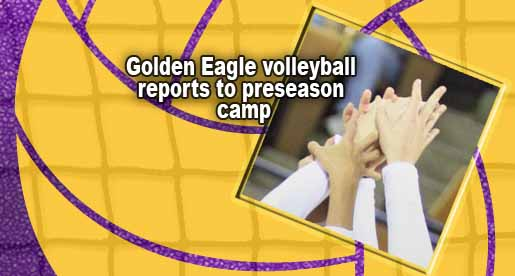 Preseason gets underway for Golden Eagle volleyball team