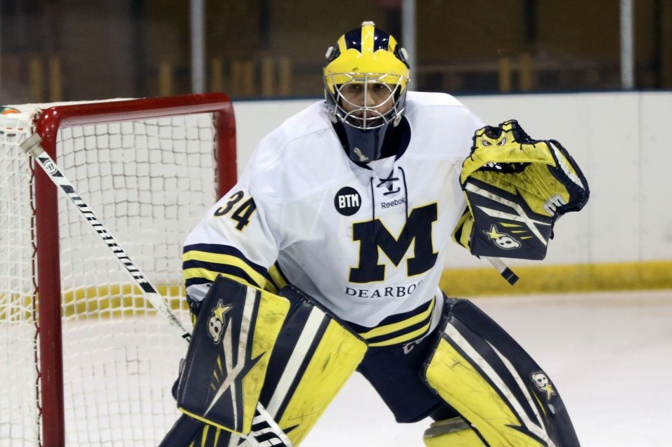 Photo for No. 10 Wolverines clip No. 5 ranked Robert Morris in a shootout