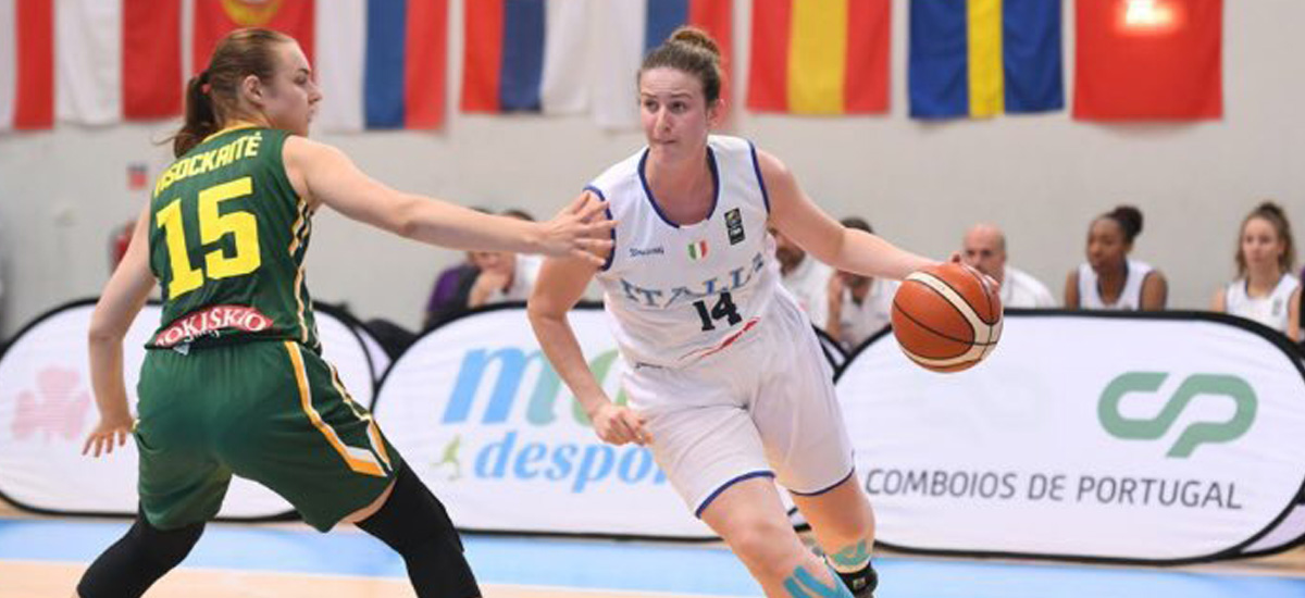 Costa and Team Italy Finish 6th at FIBA U20 European Championships