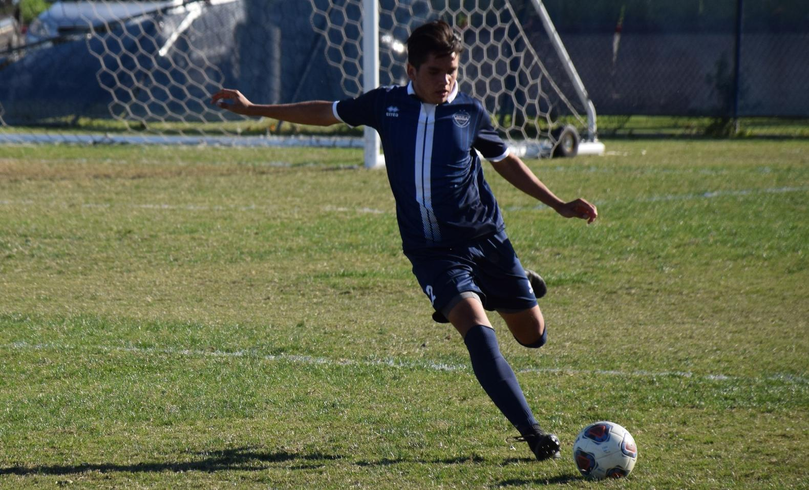 Men's soccer team edged, 2-1, by Golden West at home