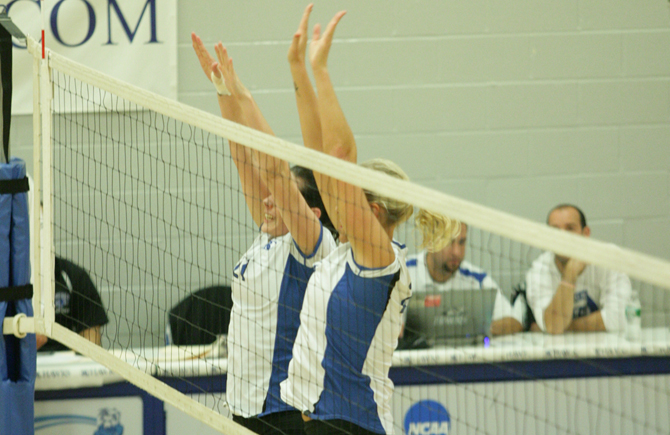 Volleyball Swept By Gordon