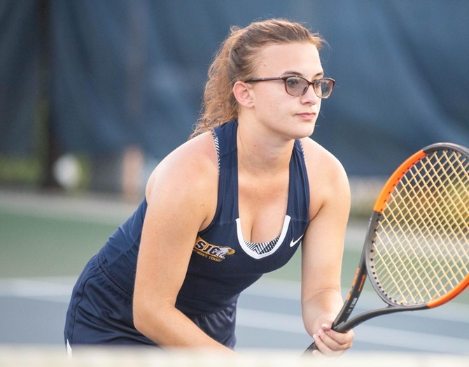 Women's Tennis Topped by Stevens in NCAA Championship First-Round