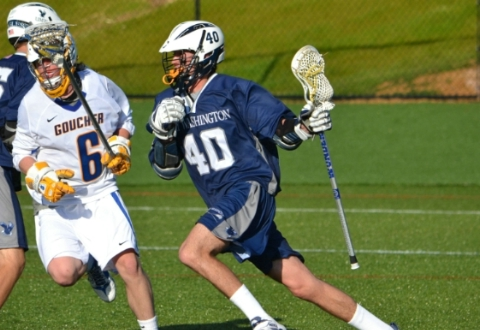 UMW Men's Lax Falls to Goucher in Overtime, 7-6