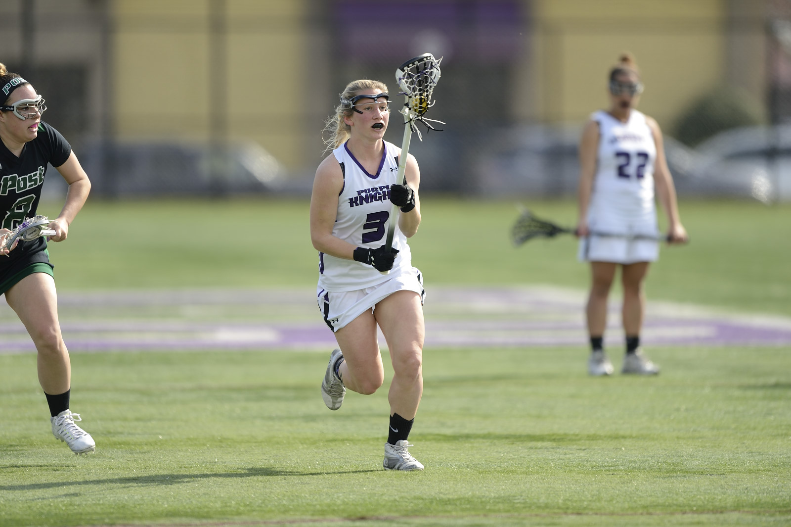 Lauren Mengel Nets Five Goals In 13-8 Women's Lacrosse Loss At Assumption