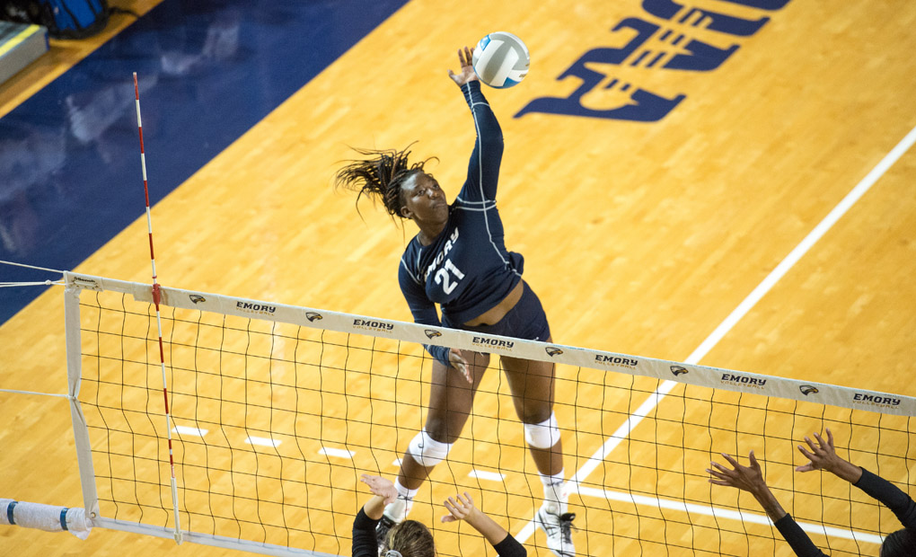 Emory Volleyball Wins Twice On Saturday -- Finishes Classic With 4-0 Record