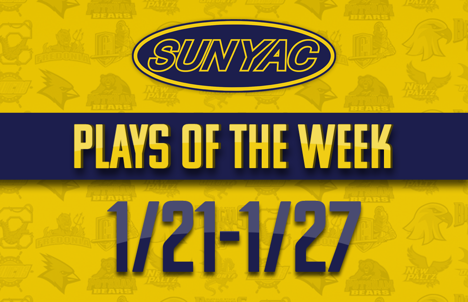 SUNYAC Winter Plays of the Week - Jan. 21-27
