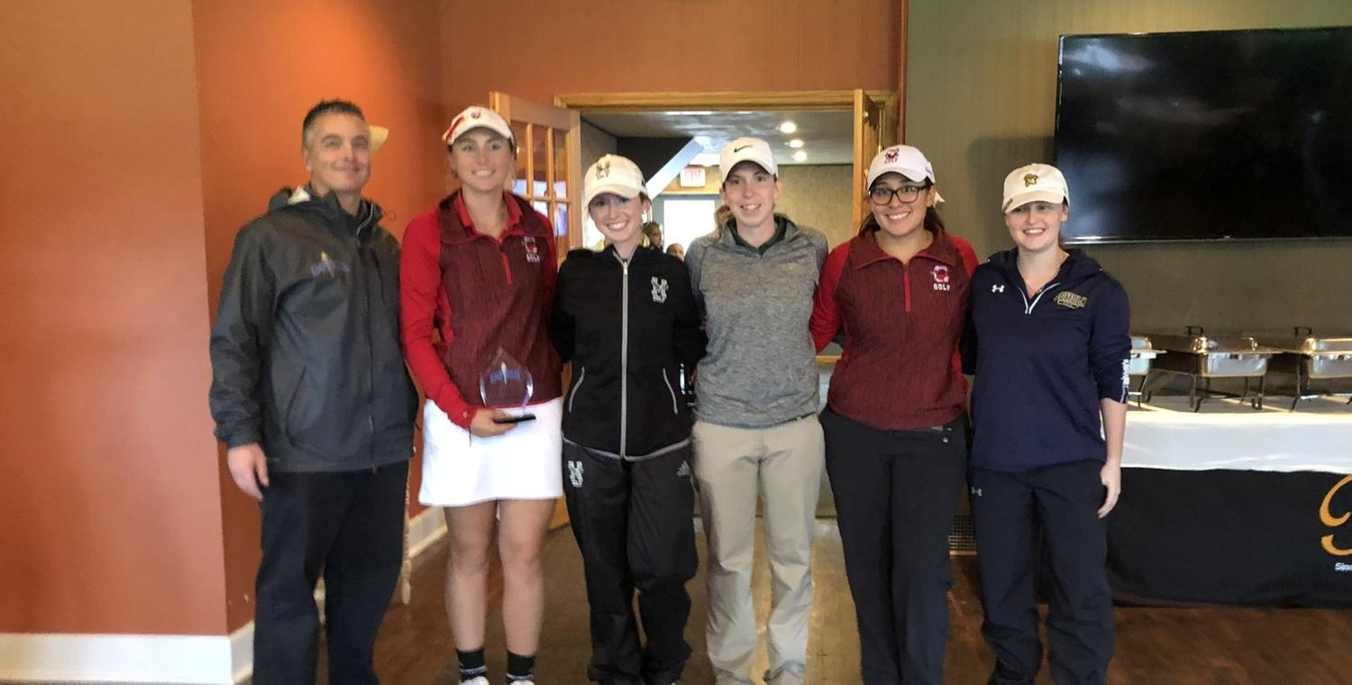 Holly Reynolds (third from right) earned First Team All-Empire 8 Conference