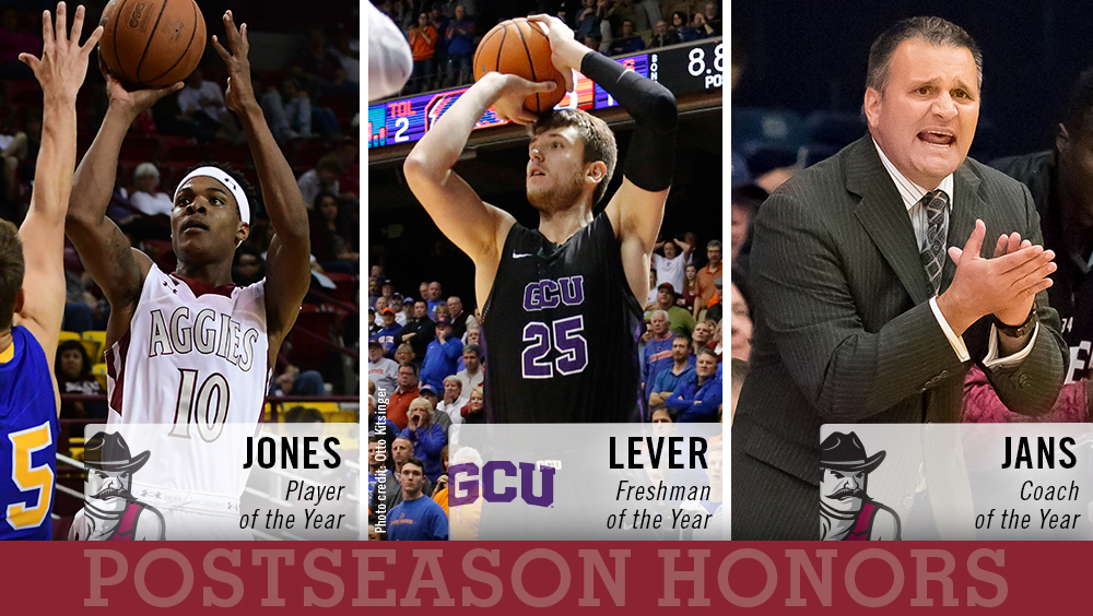 2018 WAC Men's Basketball Postseason Honors Announced