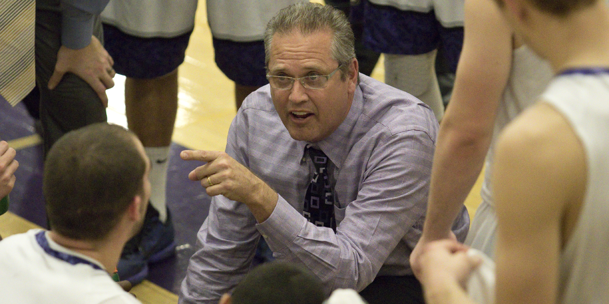 Rock Carter steps away as Head Men's Basketball Coach
