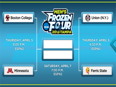 Ticket Info Announced For The Frozen Four!
