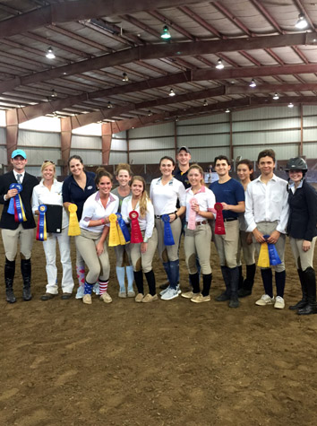 Intermont Equestrian IHSA Team Wins Six Events For First-Place Finish At Averett Saturday