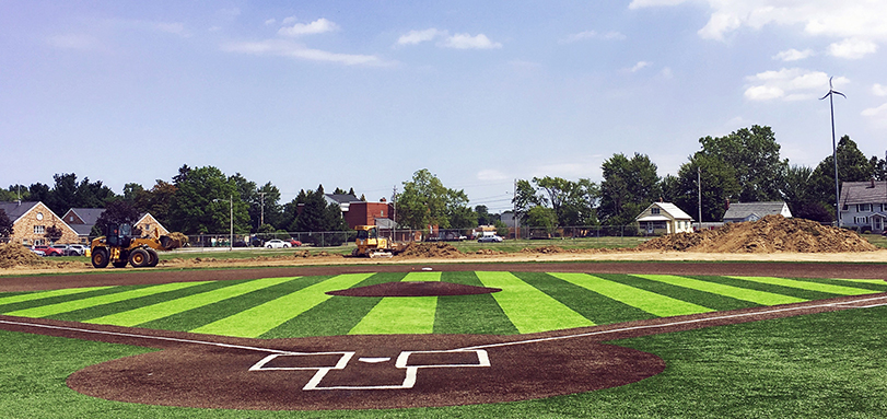 Fisher Field to Become First All-Turf Baseball Facility in OAC with Outfield Project